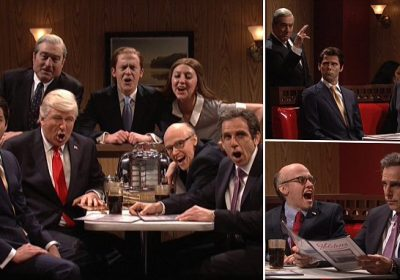 SNL season finale mashes up Trump with The Sopranos last