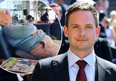 8c4f5ca38a9ef6 Suits star Patrick J Adams SHAMES woman who criticised his appearance at  the Royal Wedding by sharing unflattering snap of her sleeping