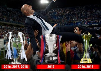 cb613f75d34c Zinedine Zidane in numbers: Footballing genius whose Real Madrid trophy  haul amounts to one every 17 games