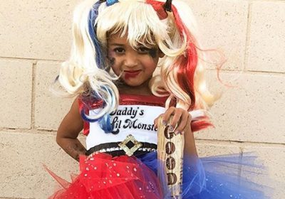 Royalty Brown Was The Cutest Harley Quinn On Halloween! And, She Was  U0027Daddyu0027s Lil Monsteru0027, As Chris Brown Helped His 4 Year Old Daughter Put A  Fun Twist On ...