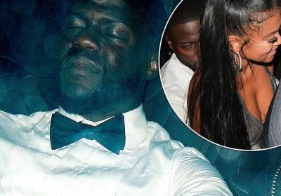 Kevin Hart dons dapper green tux celebrating his 40th birthday at